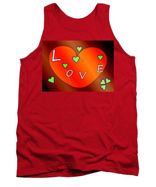 Simple  Love  Heart  - 505  Tank Top