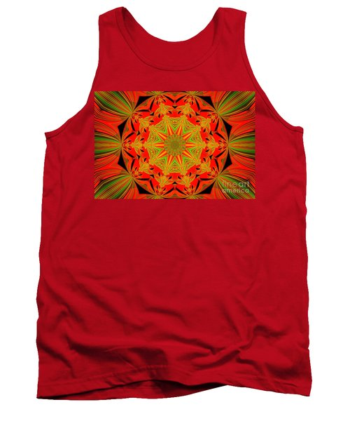 Brighten Your Day.unique And Energetic Art Tank Top