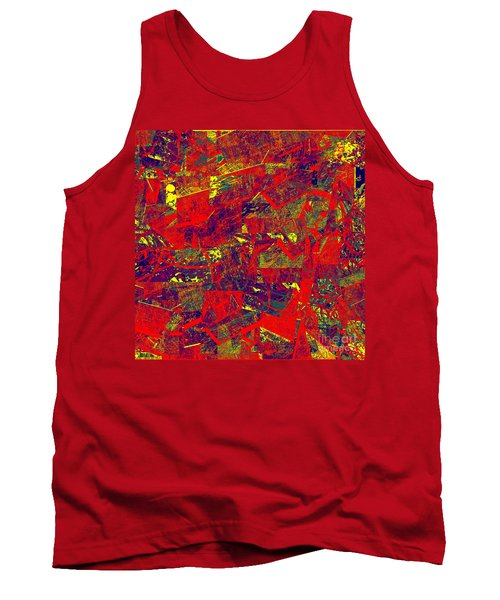 0384 Abstract Thought Tank Top