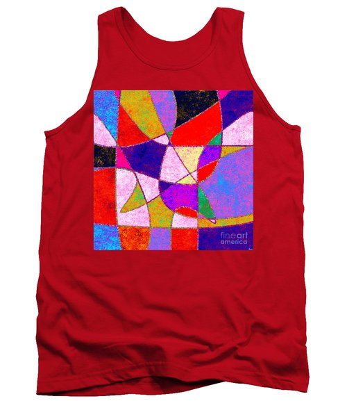 0269 Abstract Thought Tank Top