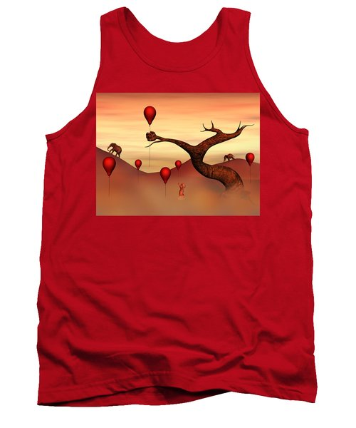 Believe What You See Tank Top by Gabiw Art