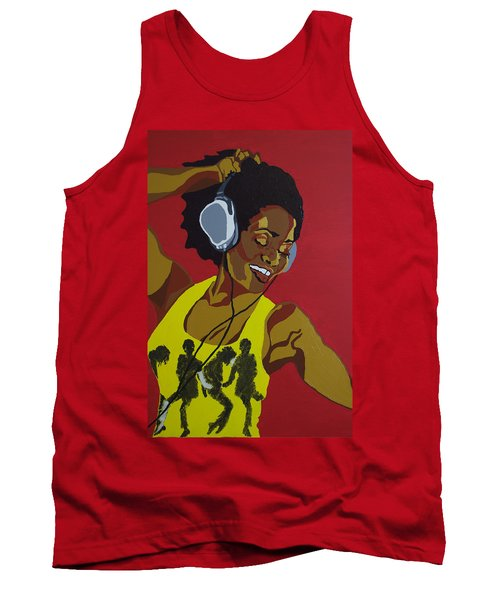 Blame It On The Boogie Tank Top