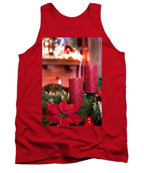 Christmas Candles Tank Top