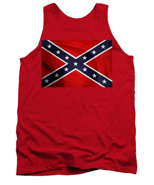 Confederate Flag 5 Tank Top