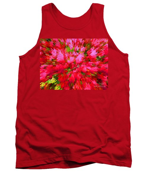 Explosion Of Spring Tank Top by Alys Caviness-Gober