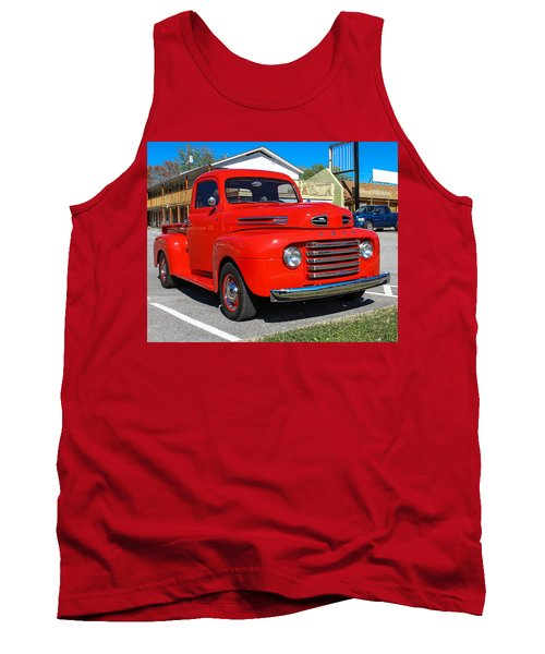 Tank Top featuring the photograph Ford Truck by Robert L Jackson