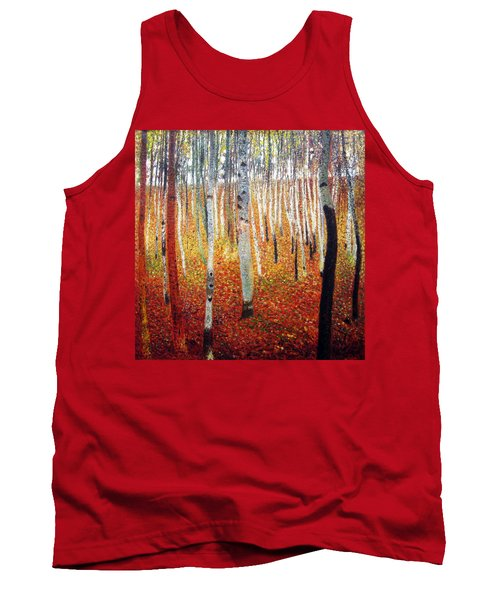 Forest Of Beech Trees Tank Top
