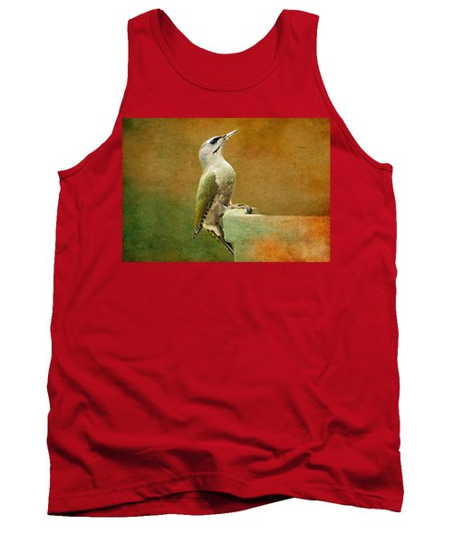 Grey-headed Woodpecker Tank Top by Heike Hultsch