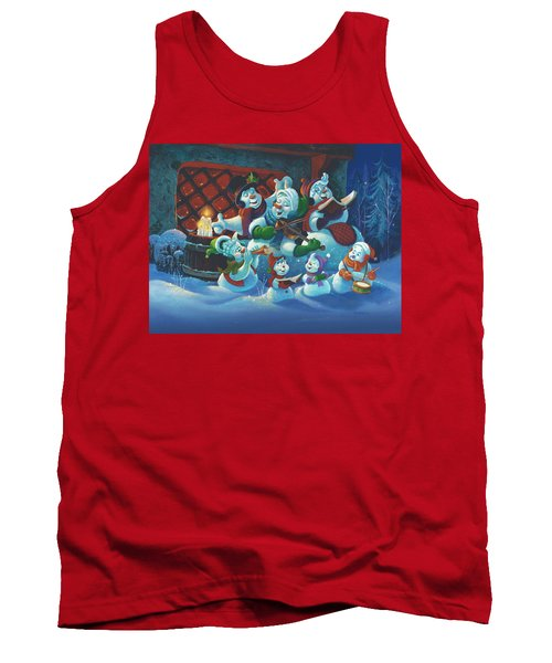 Joy To The World Tank Top by Michael Humphries