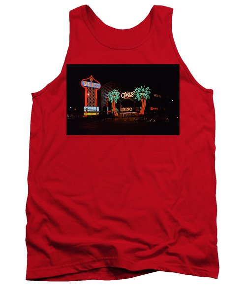 Las Vegas 1983 Tank Top by Frank Romeo