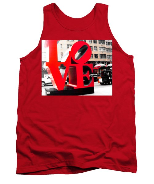 Love Tank Top by J Anthony
