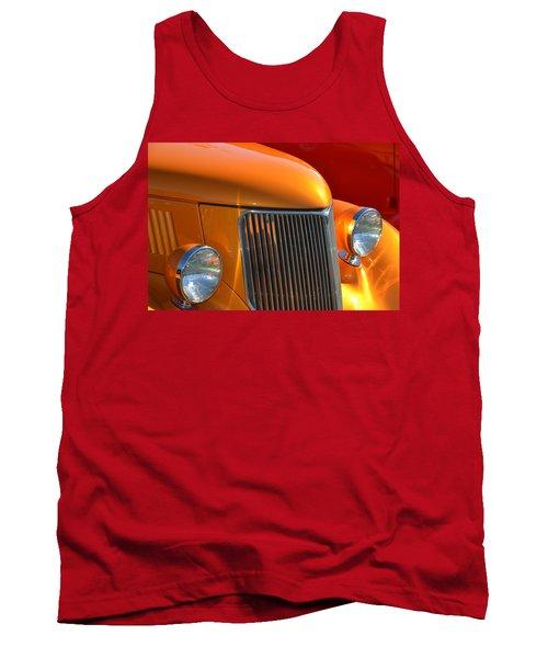 Orange Hotrod Tank Top