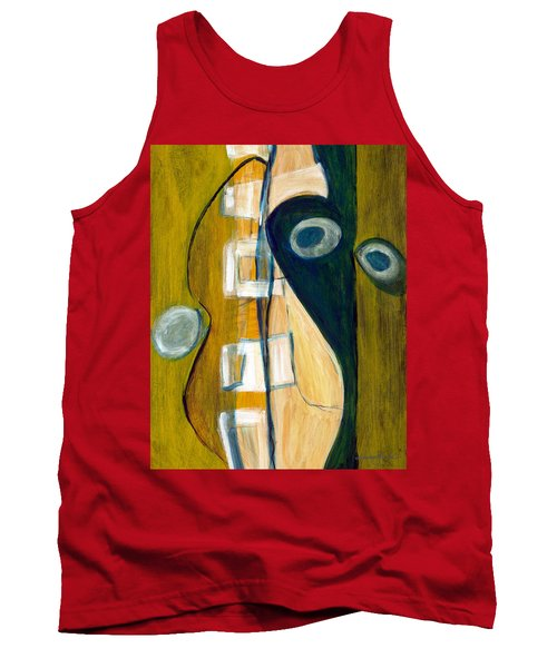 Portrait Of A Humble Man Tank Top