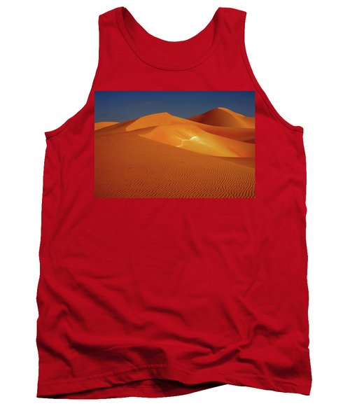 Sand Dunes At The Empty Quarter Desert Tank Top