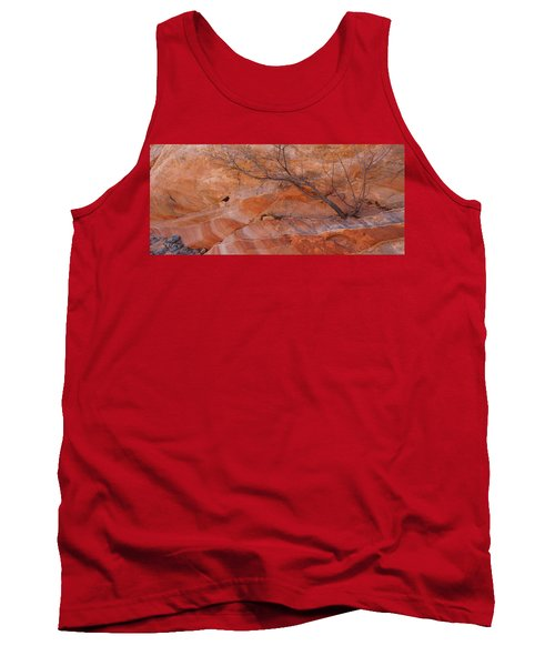 Sandstone Patterns, Valley Of Fire Tank Top