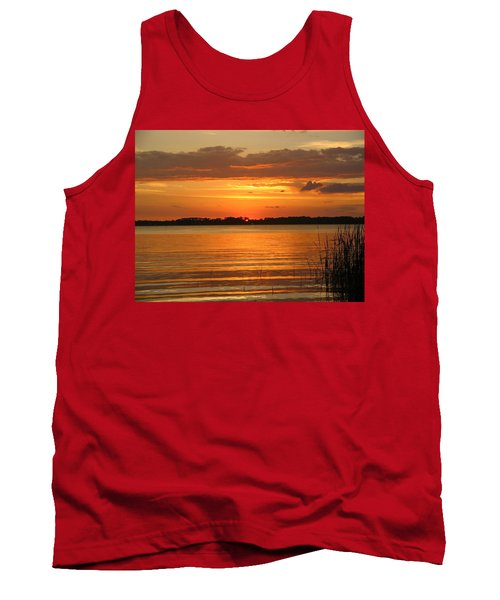 Setting Sun In Mount Dora Tank Top