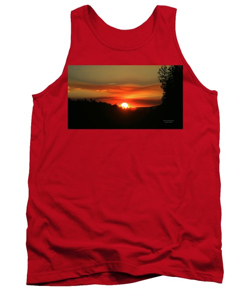 Smokin' Payson Sunset Tank Top