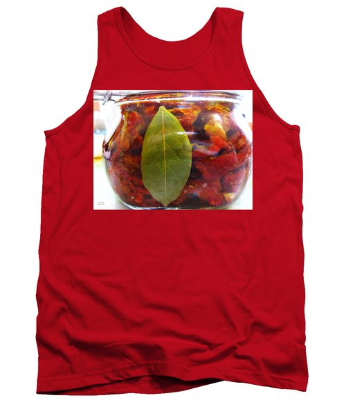 Sun Dried Tomatoes In Olive Oil Tank Top
