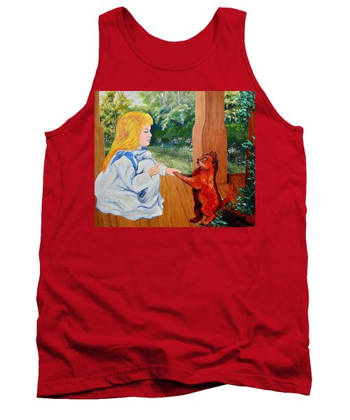 Tank Top featuring the painting The Dance Lesson by Karon Melillo DeVega