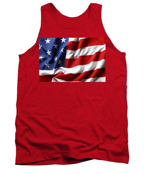 Usa Flag No.52 Tank Top