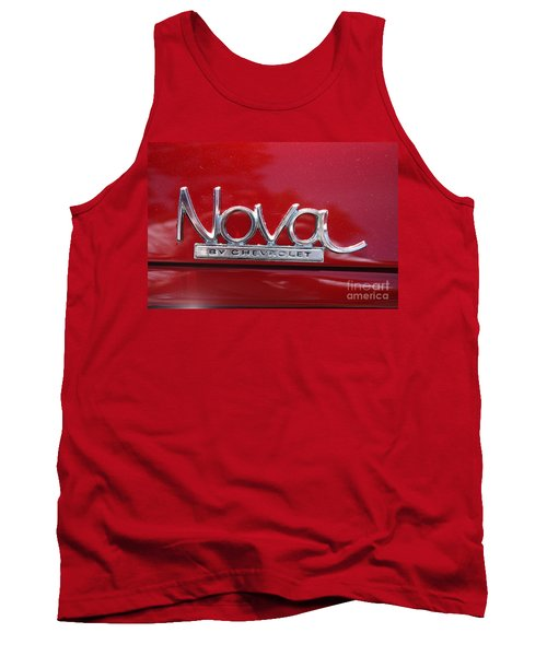 1970 Chevy Nova Logo Tank Top
