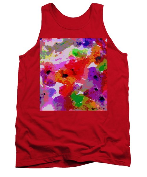 Tank Top featuring the painting A Little Watercolor by Jamie Frier