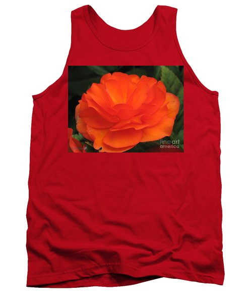 Begonia Named Nonstop Apricot Tank Top by J McCombie