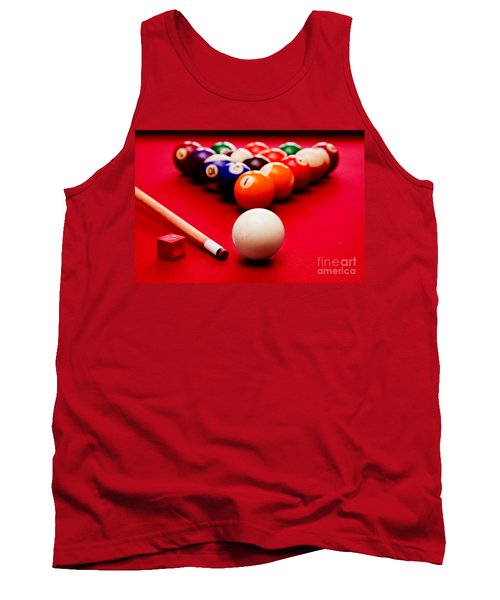 Billards Pool Game Tank Top