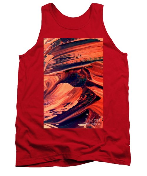 Tank Top featuring the painting Catalyst by Jacqueline McReynolds