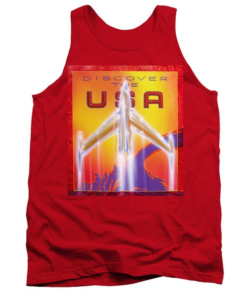 Discover The Usa Tank Top