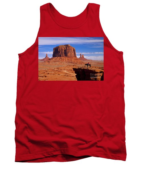 John Ford Point Monument Valley Tank Top