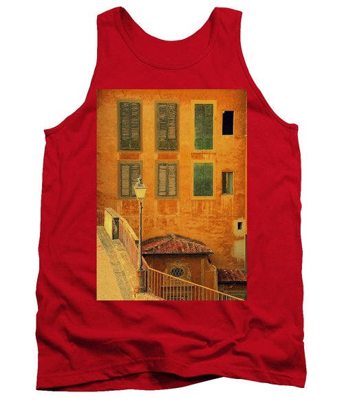 Tank Top featuring the photograph Medieval Windows by Caroline Stella