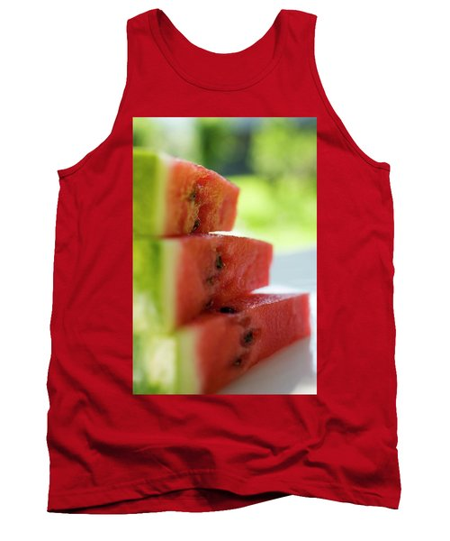 Pieces Of Watermelon Tank Top