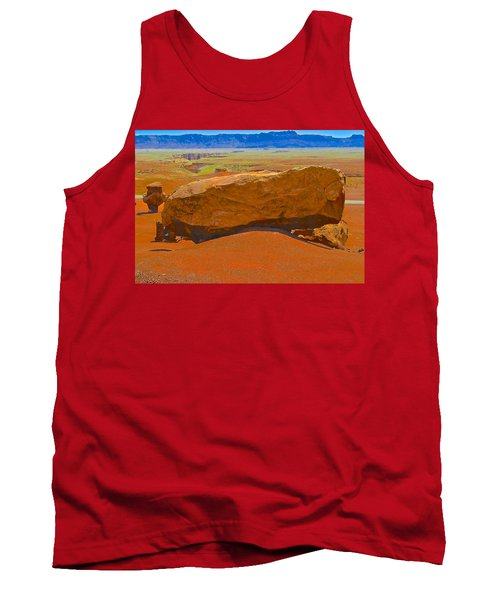 Rock Orange Tank Top by Jim Hogg