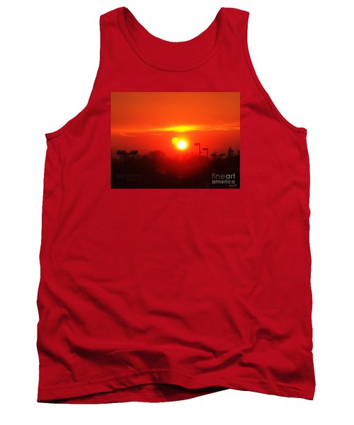 Tank Top featuring the photograph Sunset by Jasna Dragun