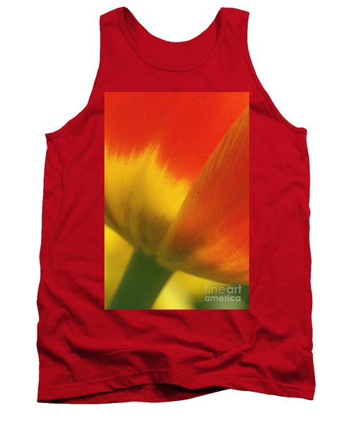 Tulip Close Up 2 Tank Top by Rudi Prott