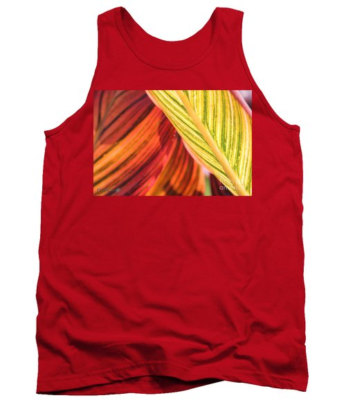 Canna Lily Named Durban Tank Top