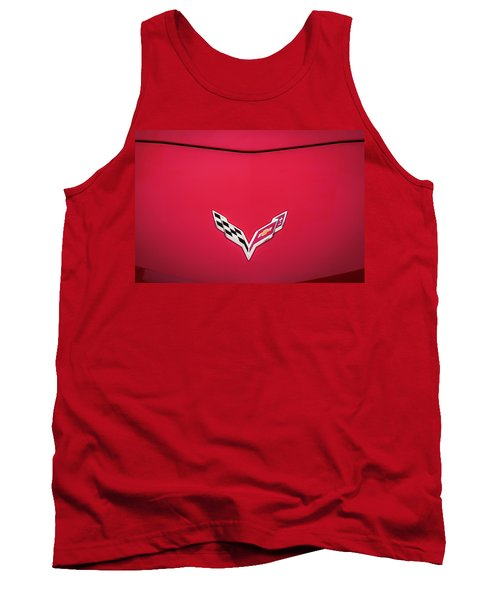 2014 Chevrolet Corvette C7  Tank Top