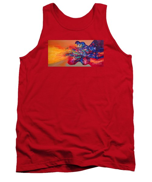 Morning Glory Sold Out Tank Top by Sanjay Punekar
