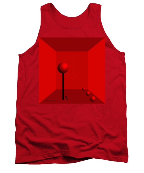 980 -    For Ever  Trapped Tank Top