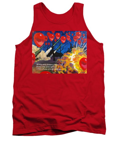 99 Red Balloons Tank Top