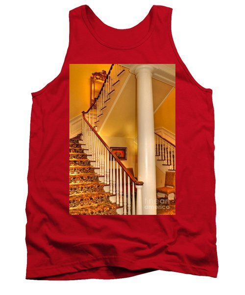 Tank Top featuring the photograph A Bit Of Southern Style by Kathy Baccari