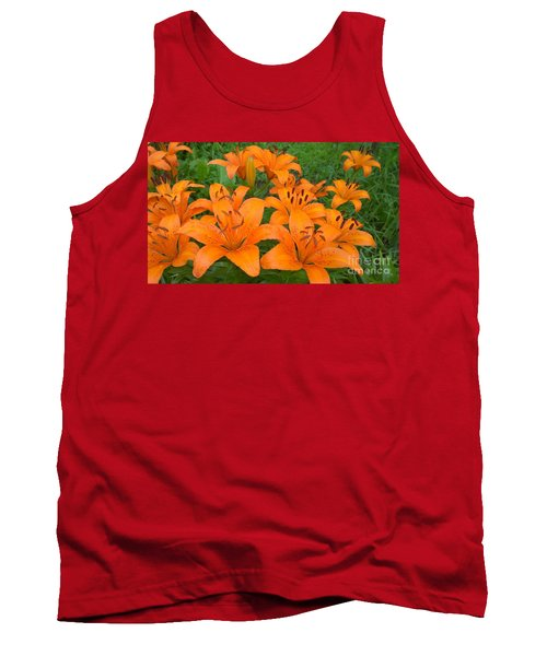 A Garden Full Of Lilies Tank Top
