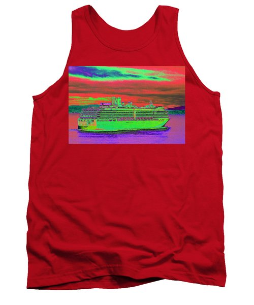 A More Colorful Hal Tank Top