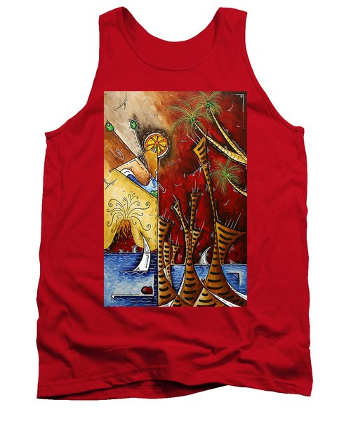 A Slice Of Paradise By Madart Tank Top