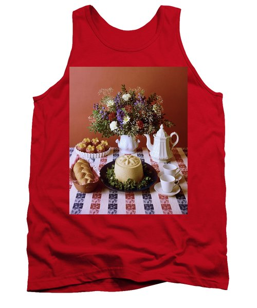 A Table Of Pastries Tank Top