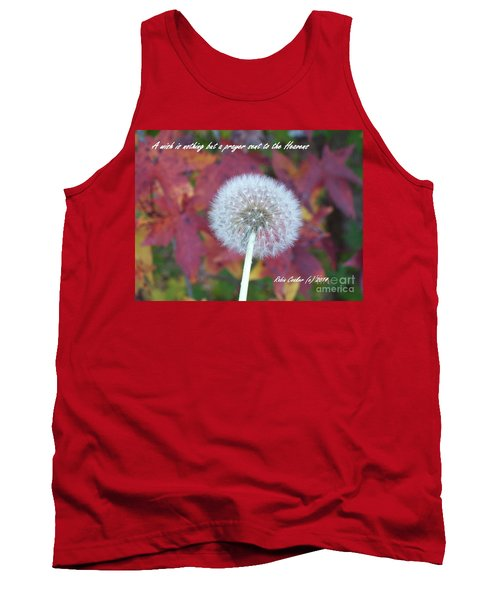 A Wish For You Tank Top by Robin Coaker