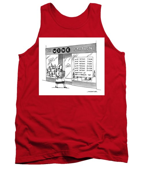 The Wine Station Tank Top