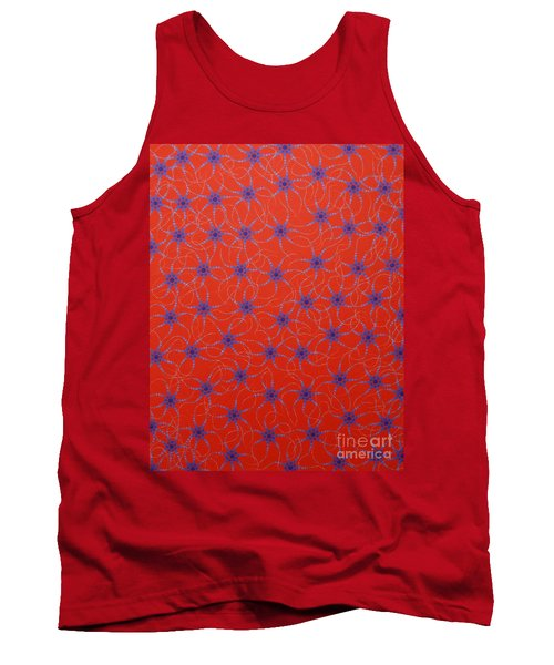 Aboriginal Inspirations Collection 3 Tank Top by Mariusz Czajkowski