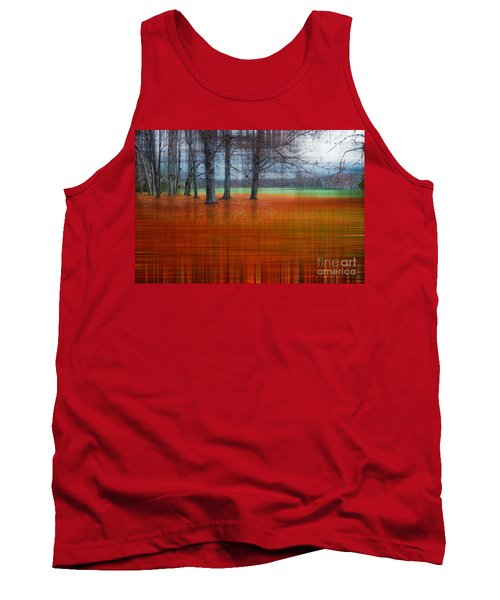 abstract atumn II Tank Top by Hannes Cmarits